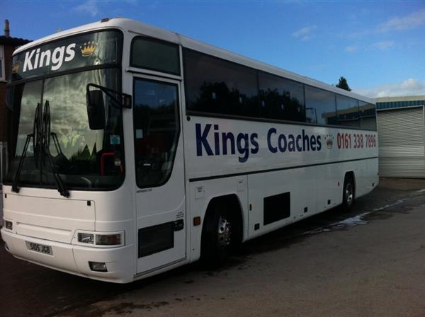 Vehicle Details: 1998 Volvo B10M Plaxton Premiere 49 seater - +44 (0)1925 210220 - Used Coach Sales