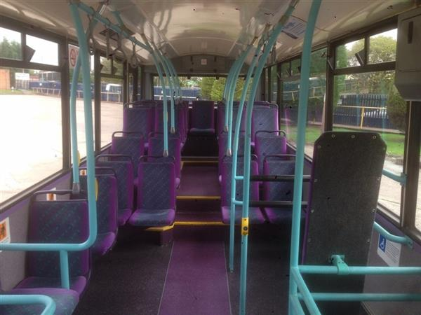 vehicle details  2002 dennis dart slf service bus