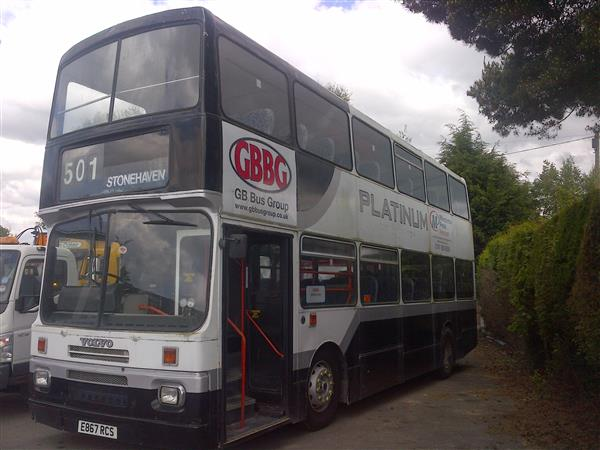 Vehicle Details: 1988 VOLVO CITYBUS DOUBLE DECKER - +44 (0)1925 210220 - Used Coach Sales