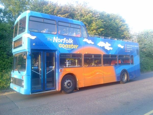 Vehicle Details: 1998 Volvo Olympian semi open top double decker bus - +44 (0)1925 210220 - Used ...