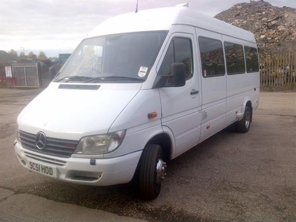 Vehicle Details: 2001 Mercedes Sprinter 413Cdi 16 seater coach - +44