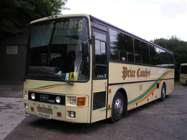 Vehicle Details 1984 Volvo B10m Van Hool Manual 53 Seats